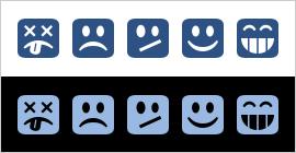 Interest Profiler emoji-style graphics